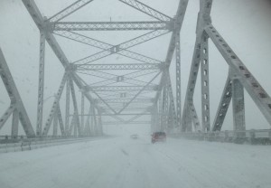 On the Tappan Zee Bridge