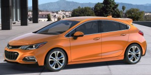 The 2017 Chevrolet Cruze Hatchback