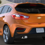 Auto Show Launch of Chevy Cruze Hatchback